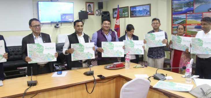 The Map Book: Pokhara Metropolitan City in Maps launched